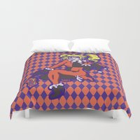 harley Duvet Covers featuring Harley by Sophie Jewel