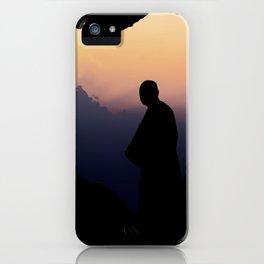 Contemplation - Spiritual jorney of a Monk T-Shirt iPhone Case