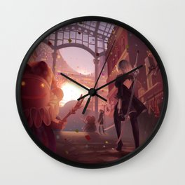 NieR: Automata - Welcome to the Amusement Park Wall Clock
