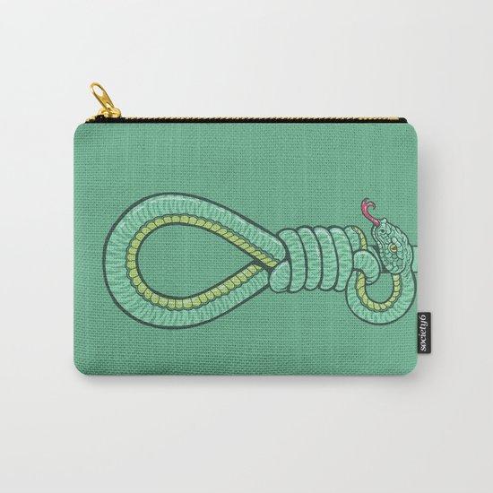 Hangman Snake (green) Carry-All Pouch