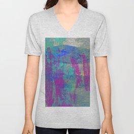 Abstract No. 472 Unisex V-Neck