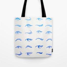 Mascara Envy – Blue Ombré Palette Tote Bag