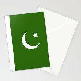 Pakistan flag emblem Stationery Cards