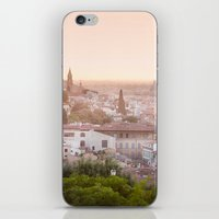 florence iPhone & iPod Skins featuring Florence by ocophoto