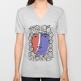Goddess of Spring Unisex V-Neck