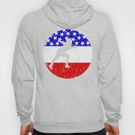 American Flag Fencing Hoody