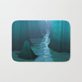 Blue Canyon River Bath Mat