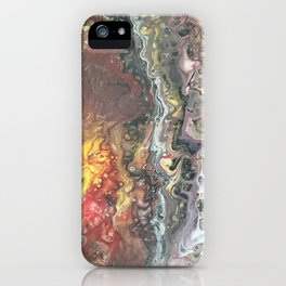 Earth's Core iPhone Case