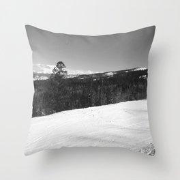 Sea of Trees Throw Pillow