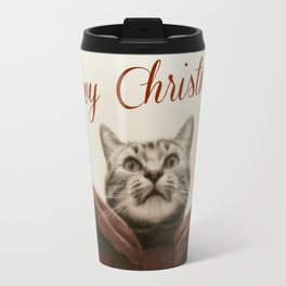 Meowy Christmas Travel Mug