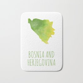 Bosnia and Herzegovina Bath Mat