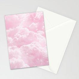 Clounds Sky Pink Stationery Cards