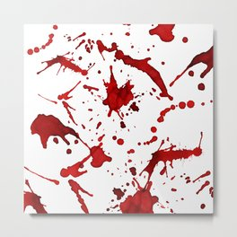 Bloody Mess Metal Print