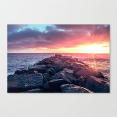 Topaz Jetty Canvas Print