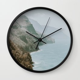 Summer Coast V / Kaui, Hawaii Wall Clock