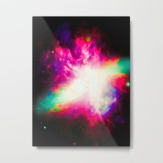 Collision Metal Print