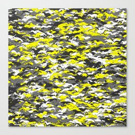 Whippet camouflage Canvas Print