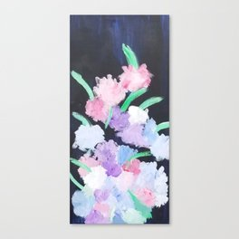 Night Bouquet Canvas Print