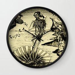 The Birth of Venus (Posada) Wall Clock