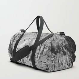 Amazing Bryce Canyon View in Monochrom Duffle Bag