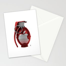 Red Apple Granade Stationery Cards