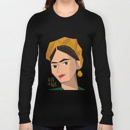 Frida Khalo Cubism Edition 2 Long Sleeve T-shirt