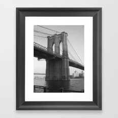 BK Framed Art Print