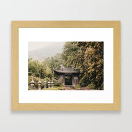 Hidden China Framed Art Print