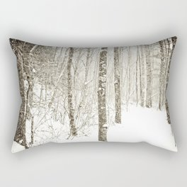 Wintry Mix Rectangular Pillow