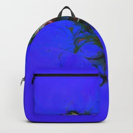 Abstrct Blue Space Backpack