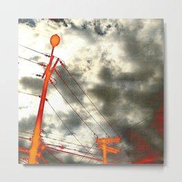Vivid electricity Metal Print