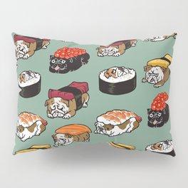Sushi English Bulldog Pillow Sham
