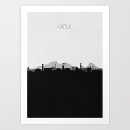 City Skylines: Kabul Art Print