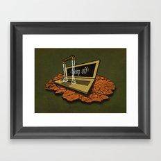 SPACEship Framed Art Print