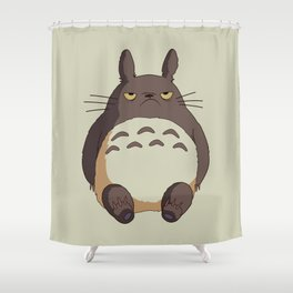Grumpy T0toro Shower Curtain