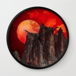 nice little place Wall Clock