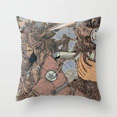 Him\Her Throw Pillow