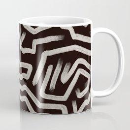 Black & Cream Study 2 Coffee Mug