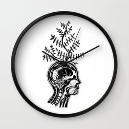 Terminal Illusions Wall Clock