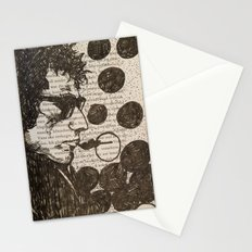 Bob Dylan Smoking the Blues Stationery Cards