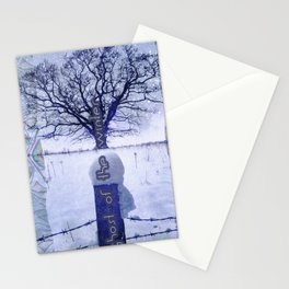 Ghost of the winter Stationery Cards