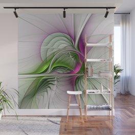 Wild Beauty, Abstract Fractal Art Wall Mural