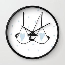 Petit soutif Wall Clock