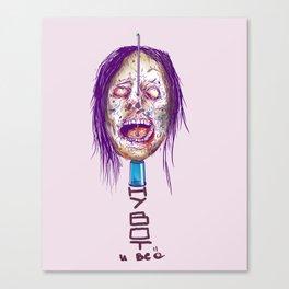 junkie Canvas Print