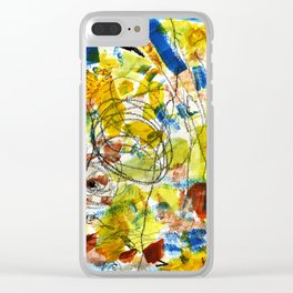 Carousel and Sunshine Clear iPhone Case
