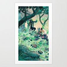 Vile Evan the Slimeophage Art Print
