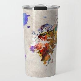 World Map 54 Travel Mug