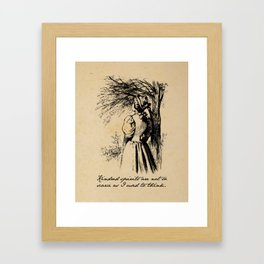 Anne of Green Gables - Kindred Spirits Framed Art Print
