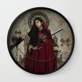 The Brambles Queen Wall Clock