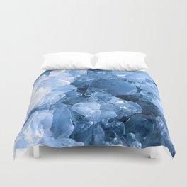 Celestite Blue Duvet Cover